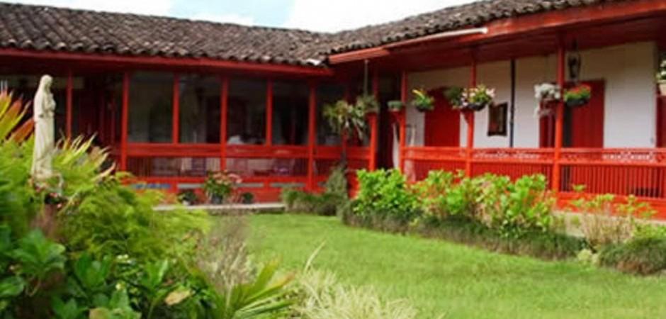 Interior de la Posada de Las Nubes    Fuente: posadasturisticasdecolombia.com