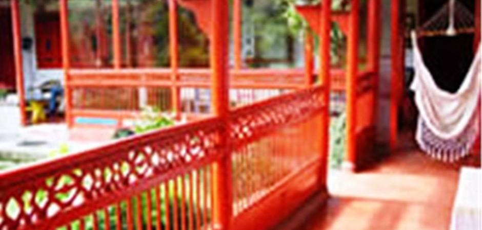 Corredor interior de la posada   Fuente: posadasturisticasdecolombia.com